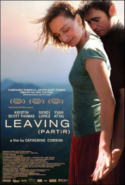 "Poster for the movie ""Leaving"""