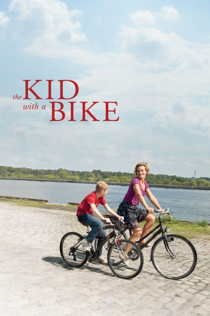 "Poster for the movie ""The Kid with a Bike"""