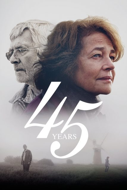 "Poster for the movie ""45 Years"""