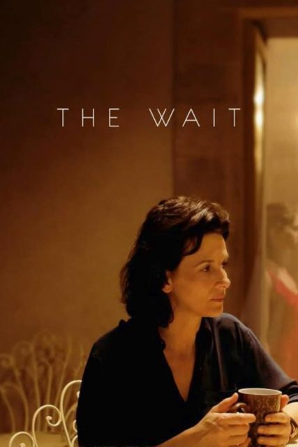 "Poster for the movie ""The Wait"""