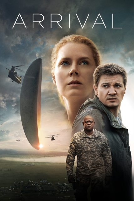 """Poster for the movie """"Arrival"""""""
