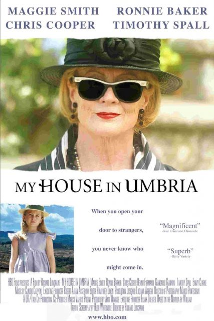 """Poster for the movie """"My House in Umbria"""""""