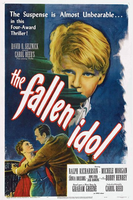 "Poster for the movie ""The Fallen Idol"""