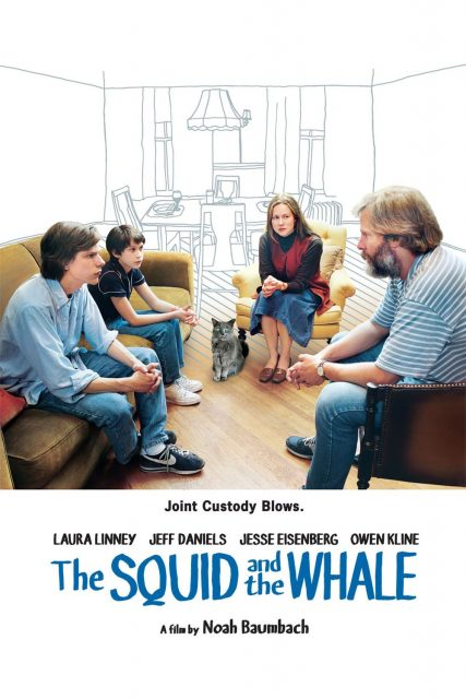 """Poster for the movie """"The Squid and the Whale"""""""