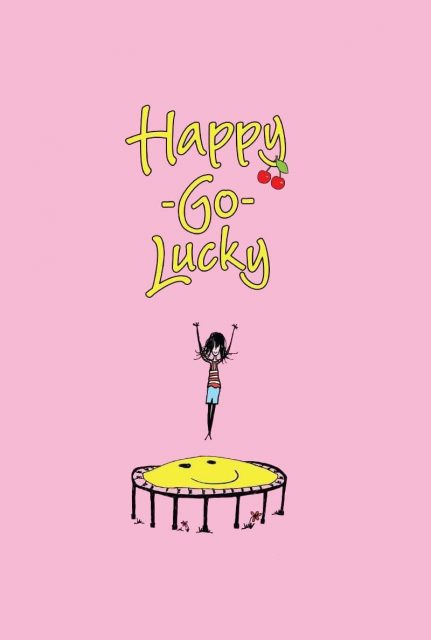 """Poster for the movie """"Happy-Go-Lucky"""""""