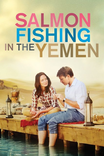 """Poster for the movie """"Salmon Fishing in the Yemen"""""""