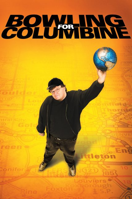 """Poster for the movie """"Bowling for Columbine"""""""