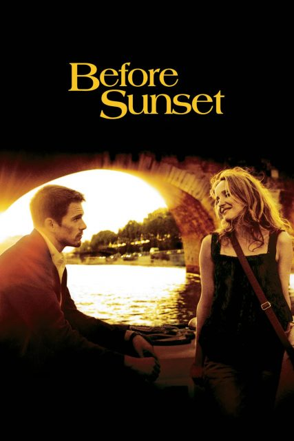 """Poster for the movie """"Before Sunset"""""""