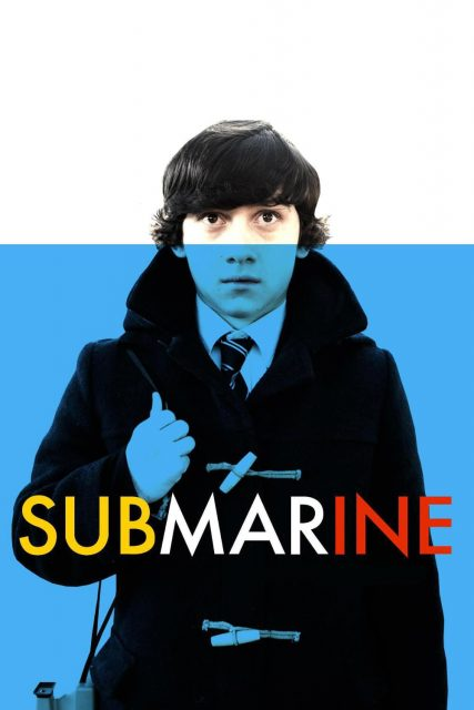 """Poster for the movie """"Submarine"""""""