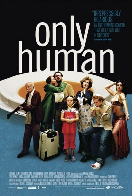 """Poster for the movie """"Only Human"""""""