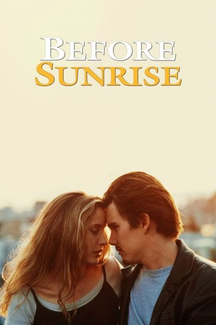 """Poster for the movie """"Before Sunrise"""""""