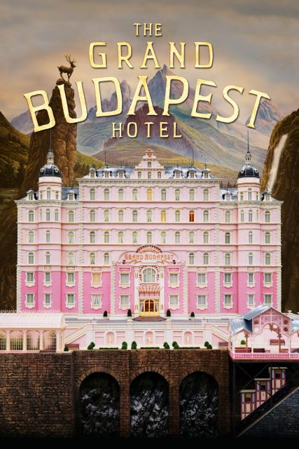 """Poster for the movie """"The Grand Budapest Hotel"""""""