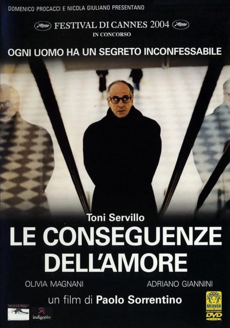 """Poster for the movie """"The Consequences of Love"""""""