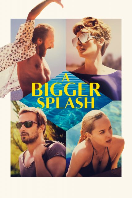 "Poster for the movie ""A Bigger Splash"""
