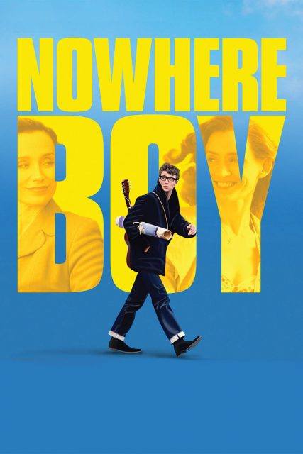 """Poster for the movie """"Nowhere Boy"""""""