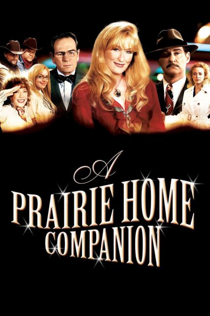"Poster for the movie ""A Prairie Home Companion"""