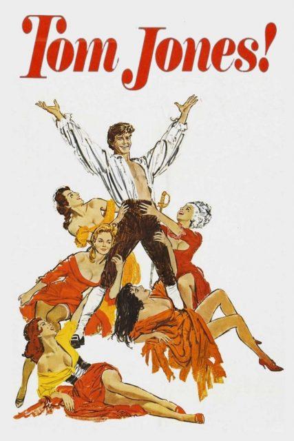 "Poster for the movie ""Tom Jones"""