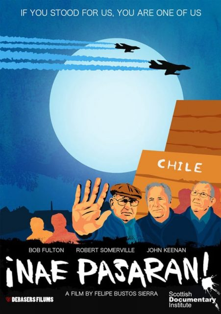 """Poster for the movie """"Nae Pasaran"""""""